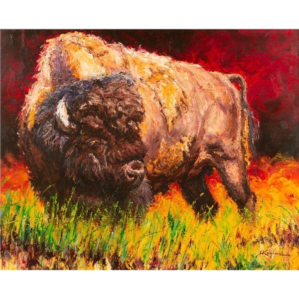 Harry Koyama, oil on canvas