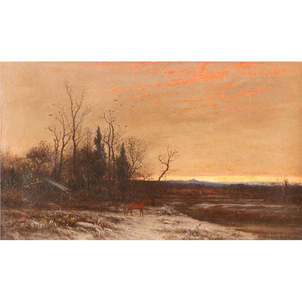J. Carleton Wiggins, oil on canvas