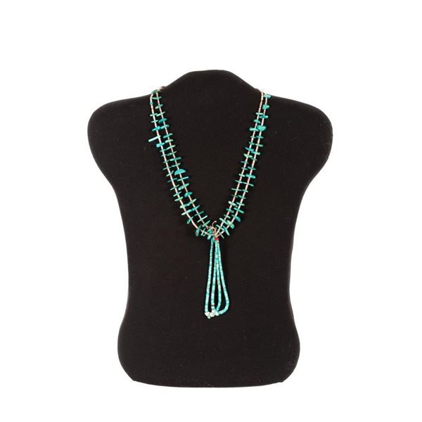 Traditional Turquoise Necklace