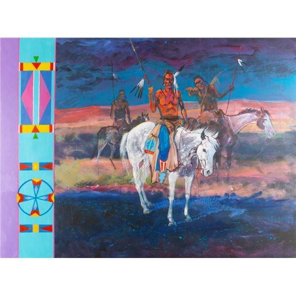 George Flett, oil on canvas