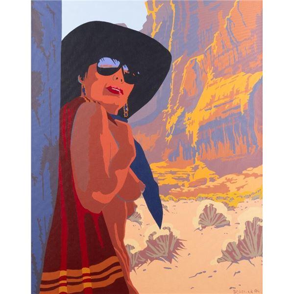 William Schenck, oil on canvas