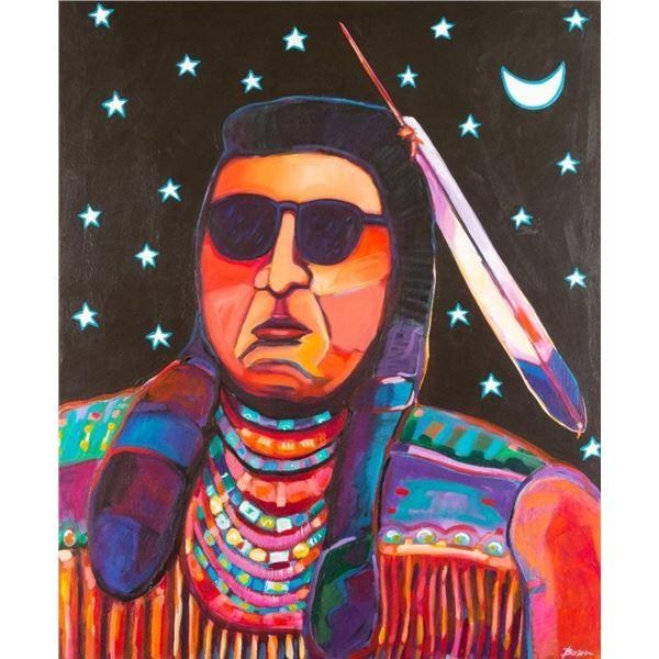 Bob Bonn, oil on canvas