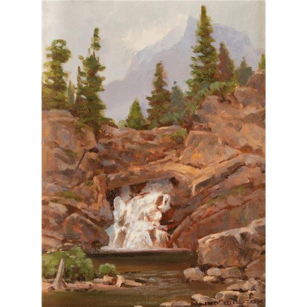 Jim Wilcox, oil on canvasboard