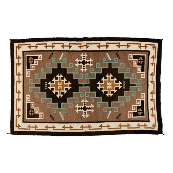 "Navajo Rug, 68"" x 44"""