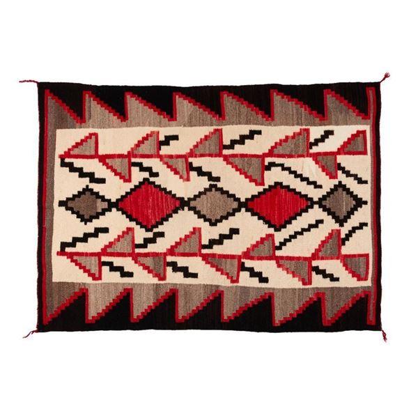 "Navajo Rug, 66"" x 47"""