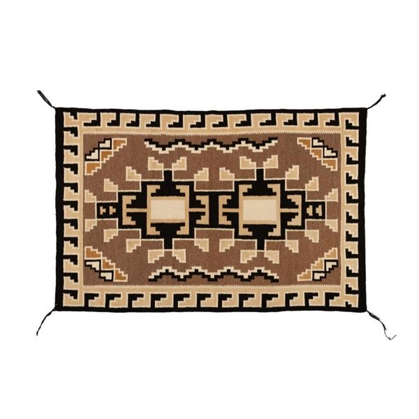 "Navajo Rug, 57"" x 38"""