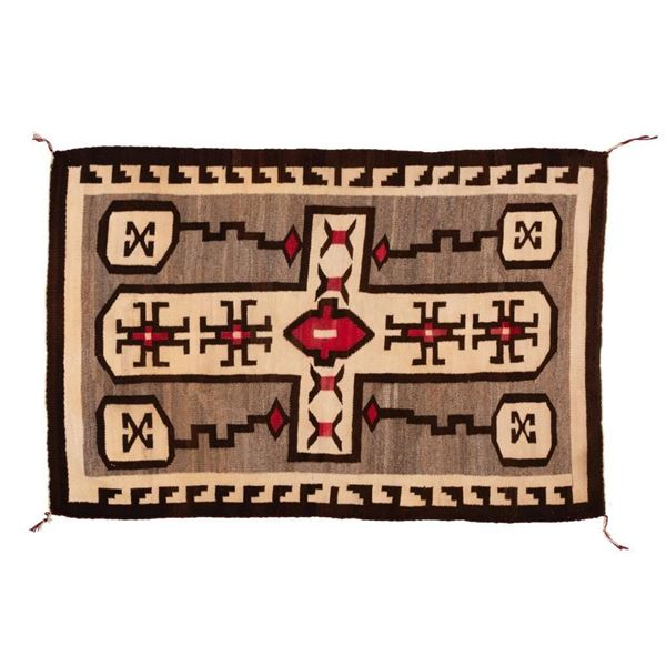 "Navajo Rug, 67"" x 45"""