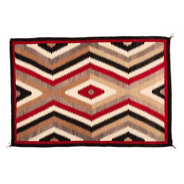 "Navajo Rug, 71"" x 48"""
