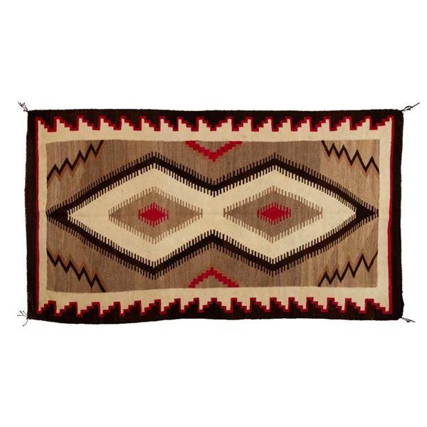 "Navajo Rug, 71"" x 40"""