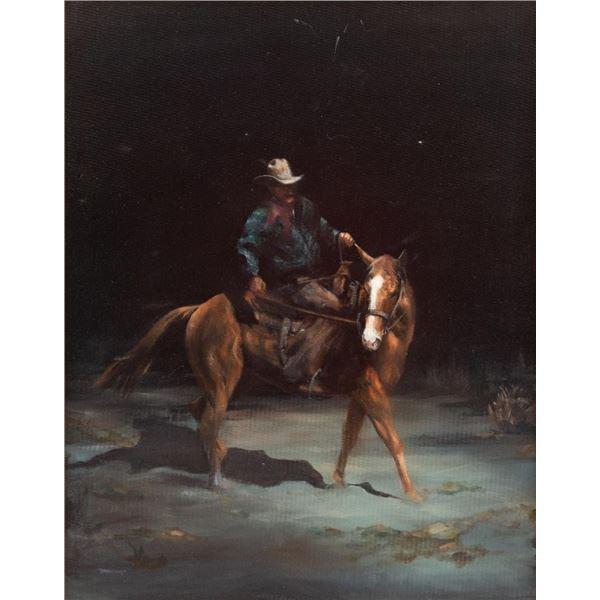 Roseta Santiago, oil on canvas