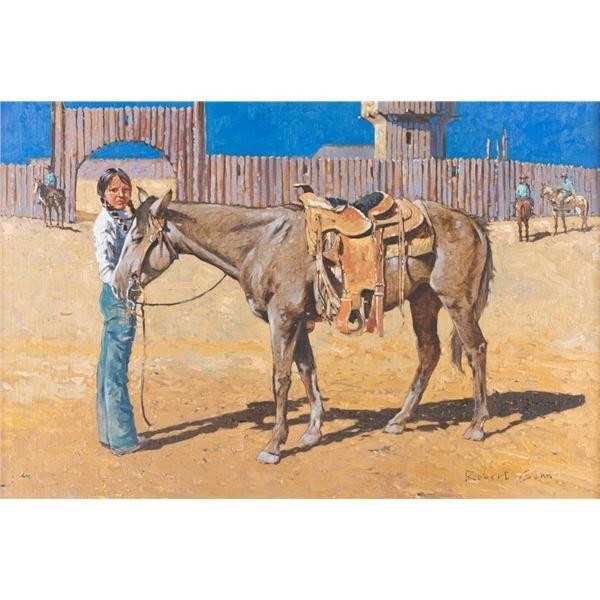 Robert Douglas Genn, oil on canvas