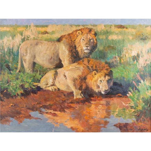 John Swatsley, oil on canvas