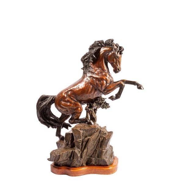 Lorenzo E. Ghiglieri, bronze