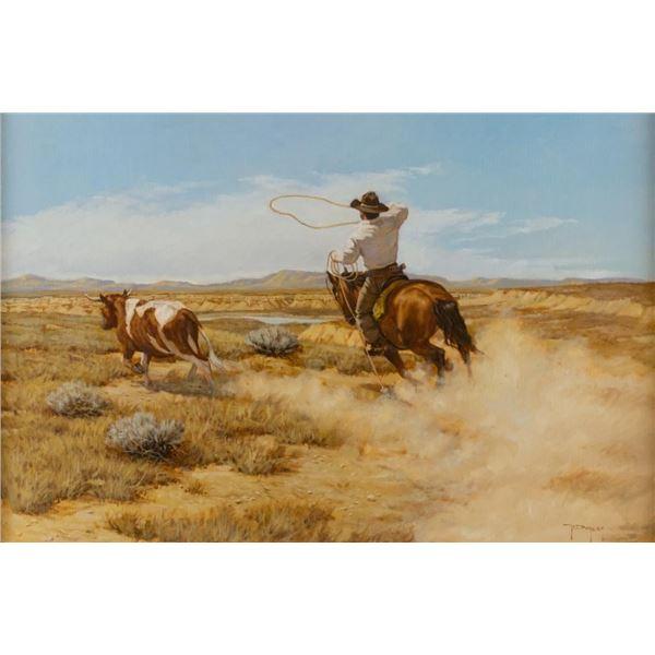 Robert Duncan, oil on canvas