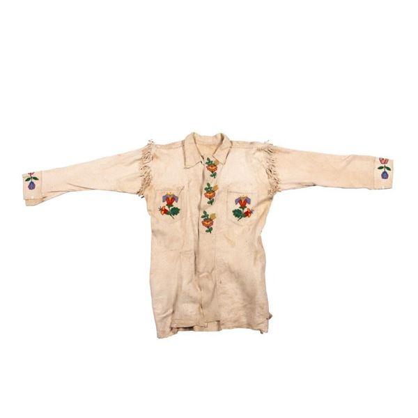 Cree Beaded Man's Jacket