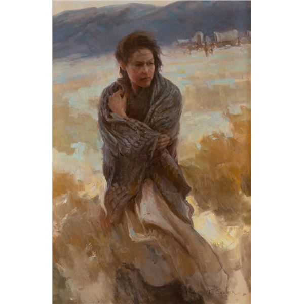 Todd Connor, oil on canvas