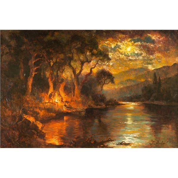 Greg Parker, oil on canvas