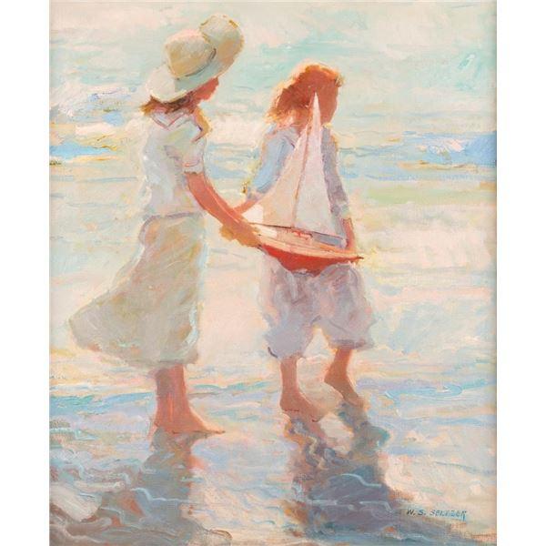W. Steve Seltzer, oil on canvas
