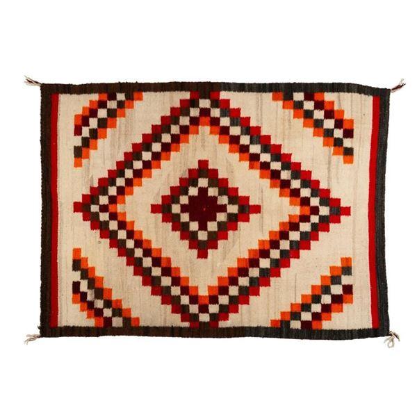 "Navajo Rug, 58"" x 44"""