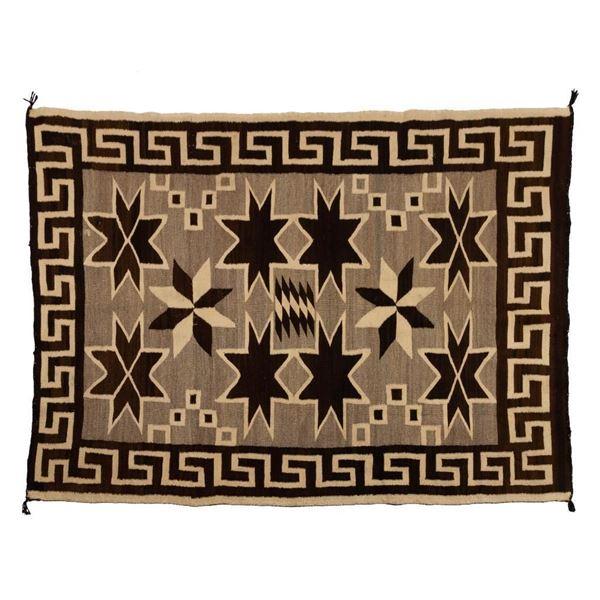 "Navajo Rug, 60"" x 44"""
