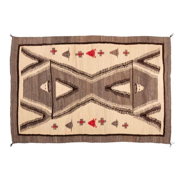 "Navajo Rug, 66"" x 44"""