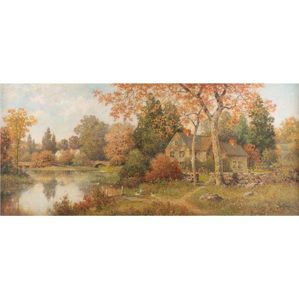 Milton H. Lowell, oil on canvas