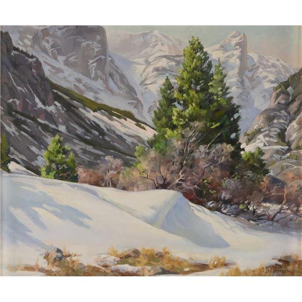 LeRoy Greene, oil on canvas