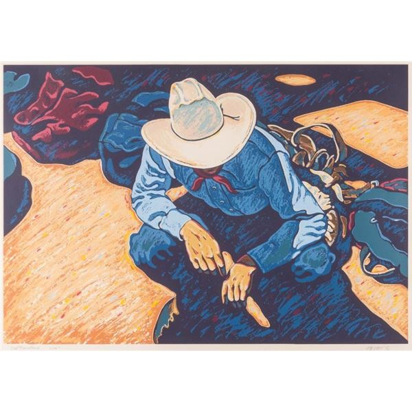 Howard Post, limited edition serigraph