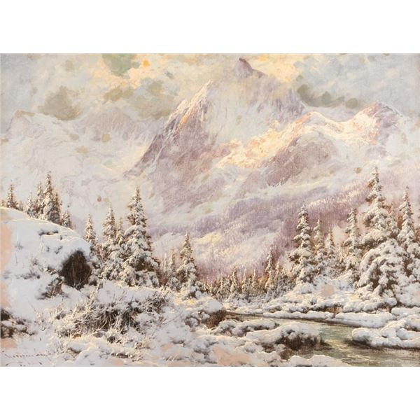 Laszlo Neogrady, oil on canvas