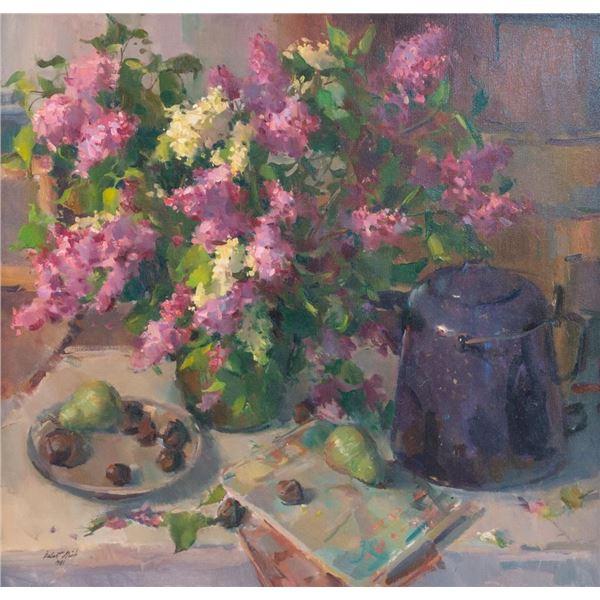 Delbert Gish, oil on canvas
