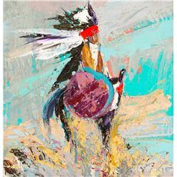 Kira Fercho, acrylic