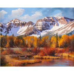 Paul Dykman, oil on canvas