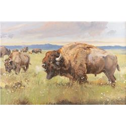 Luke Frazier, oil on canvas