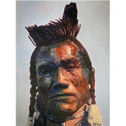 Aaron Hazel, oil on canvas