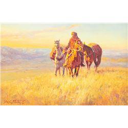 Jim Norton, oil on canvasboard