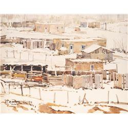 Morris Rippel, watercolor
