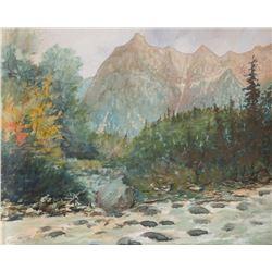 Charles Partridge Adams, watercolor