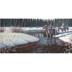 Larry Zabel, oil on canvas