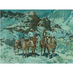 Ross Stefan, oil on canvas