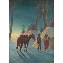 Robert Farrington Elwell, oil on canvas