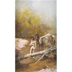 Richard Thomas, oil on canvas