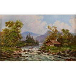 Ralph DeCamp, oil on canvas