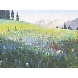 John Clymer, oil on canvas