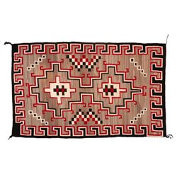 "Navajo Rug, 99"" x 60"""