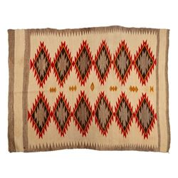 "Navajo Rug, 66"" x 51"""