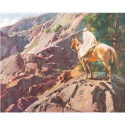 Oleg Stavrowsky, oil on canvas