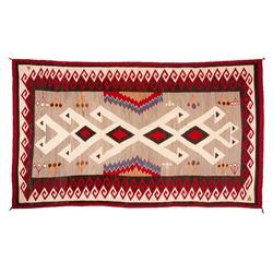 "Navajo Rug, 132"" x 83"""