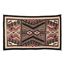 "Navajo Rug, 112"" x 64"""