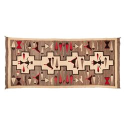 "Navajo Rug, 105"" x 45"""