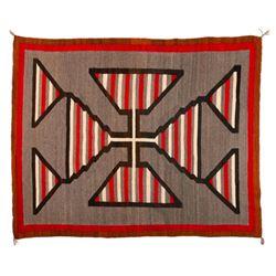 "Navajo Rug, 76"" x 60"""